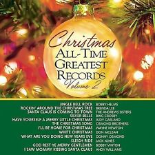 Christmas All-Time Greatest Records, Vol. 2 by Various Artists (CD, Aug-1991, Cu