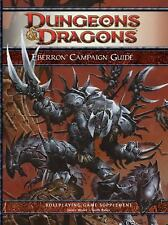 Dungeons Dragons D&D Eberron Campaign Guide by Keith Baker, NEW