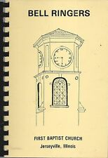 *JERSEYVILLE IL 1979 FIRST BAPTIST CHURCH COOK BOOK *BELL RINGERS *ILLINOIS RARE