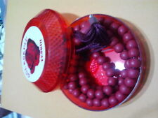ISLAMIC PRAYER BEADS WITH ROSES PARFUM RED COLOR 99 BEADS