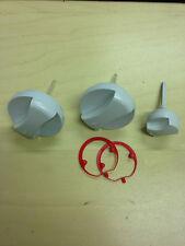 VAILLANT 0020074963 SET OF 3 CONTROL KNOBS GREY ECO TEC BOILER SPARES
