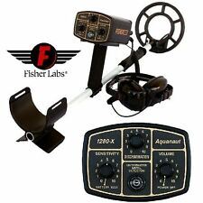 """METAL DETECTOR FISHER 1280X - 2,4 KHZ PIASTRA CONCENTRICA 10"""""""