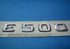 Mercedes-Benz E-Class Genuine Emblem - E500 Trunk Insignia New
