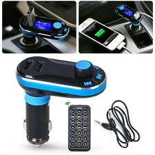 Car Wireless FM Transmitter Modulator TF MP3 Player Dual USB AUX LCD W/ Remote