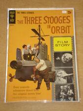 MOVIE COMICS #1 FN- (5.5) GOLD KEY COMICS THREE STOOGES IN ORBIT NOVEMBER 1962