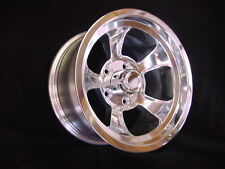 RONS RIMS 15 X 10 GM TRUCK 5 on 5 bp  GASSER RAT ROD HALIBRAND STYLE CHEVY GMC
