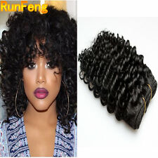 3 Bundles Brazilian Kinky Curly Human Hair Extensions 100% Unprocessed Hair Weft