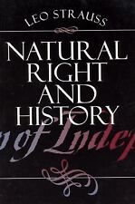 Natural Right and History (Walgreen Foundation Lectures), Leo Strauss, Acceptabl