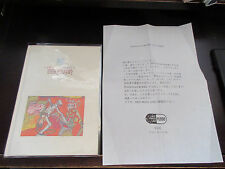 Donovan A Gift from A Flower to Japan Promo only Book from CBS Sony in 1995 Folk