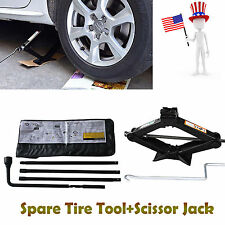 Repairment For Chevy GMC Spare Tire Tool Kit and Scissor Jack 2 Ton Speed Handle