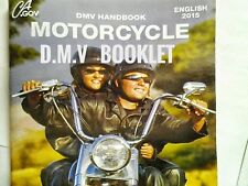 MOTORCYCLE 2015 California DMV Drivers Handbook REDUCED ONLY $3.25 Hassle free