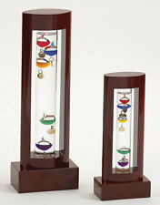 """Galileo Thermometer 8.25"""" Size Bullock & Dorchester Collection Office Desk Wood"""