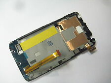 Full LCD Display+Touch Screen +frame For For htc ONE XL X325S Black