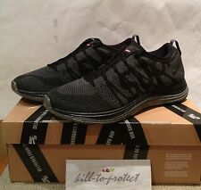 NIKE FLYKNIT LUNAR 1+ SUPREME Black Sz US9.5 UK8.5 HTM 623823-001 Box Logo 2013