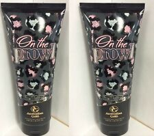 Lot of 2 Australian Gold On The Prowl Advance Bronzer Indoor Tanning Bed Lotion