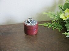 Wonderful tiny wood box for tooth with bells to call the tooth fairy