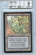MTG Dark Maze of Ith BGS Graded 9.0 (9) Mint Card Magic the Gathering WOTC 2916