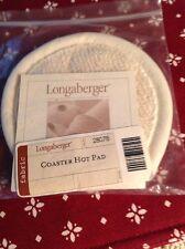 Longaberger Coaster  Basket Hot Pad-NEW