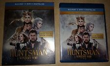 The Huntsman Winters War (2016 Blu-Ray Case, SlipCover and Digital iTunes)