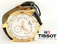 Tissot  Men's T0636373603700 Tradition Perpetual Calendar Rose Plated Watch -NEW
