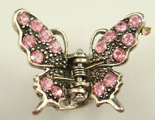 butterfly claw Crystal alloy Rhinestone Hair Clip Jaw Hairpin Fashion hot uop9