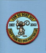 CVN-65 USS ENTERPRISE VAQ-137 DET 2003 US NAVY EA-6B PROWLER Squadron Patch