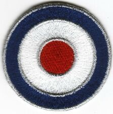 RAF Roundel Mod Target Iron on Sew on Patch No-2