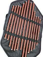13 Turkish Woodwind PLASTIC Kaval All Sizes Set  NEW !!!!!!