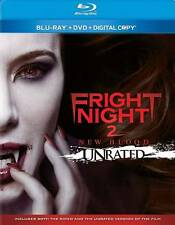 Fright Night 2: New Blood Blu-ray/DVD 2013 2-Disc Unrated CANADA $9 WORLD $12