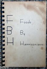 1964 FORT BENJAMIN HARRISON OFFICERS WIVES CLUB COOKBOOK, US ARMY, LAWRENCE, IN