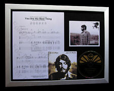 RAY LaMONTAGNE You Are Best Thing TOP QUALITY CD FRAMED DISPLAY+FAST GLOBAL SHIP