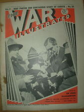 WAR ILLUSTRATED MAG No 26 MARCH 1st 1940 ANZACS ARE WELCOME IN EGYPT