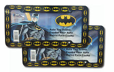 2 PC Batman License Plate frame