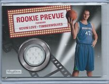 2008-09 Upper Deck Skybox Kevin Love Rookie Preview Rookie Jersey Card
