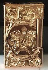 S.T. Dupont 2014 Fred Krill Blazon Ligne 2 Prestige Rose Gold Lighter 016914 NIB