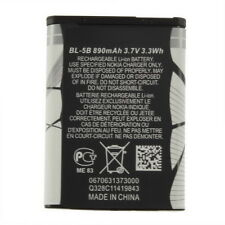 New 3.7V 890 mAh BL-5B BL5B Battery For Nokia N90 3230 5300 5070 6121 6080 MC