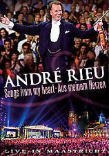 Andre Rieu - Songs From My Heart (DVD, 2012)