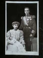 POSTCARD ROYALTY KING & QUEEN OF SPAIN & INFANT