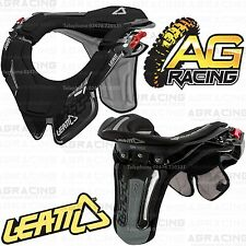 Leatt 2014 GPX Race Neck Brace Protector Black Small Medium Childrens Motocross