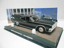 LINCOLN CONTINENTAL GOLDFINGER JAMES BOND 007 DeAGOSTINI IXO 1:43