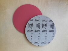 "NEW Brunswick Siaair 6"" Micro Finishing Pad, 2000 Grit, NIB"
