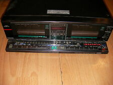 AIWA FX-W150 DOUBLE CASSETTE DECK AUTO REVERSE PARTS NEEDS BELTS