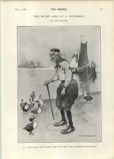 1902 Seven Ages Of Dutchman Pantaloons Ducks Walking Stick Cigar