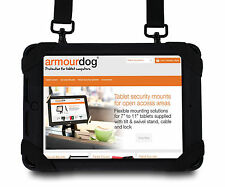armourdog rugged case for iPad Air 2. Hand / shoulder strap & tempered glass