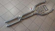 BMW E90 E92 E93 M3 08-12 TRACK SPEC Exhaust Straight Mid Pipe X Pipe 63mm