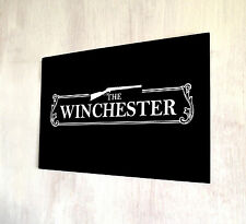 The Winchester Shaun of the Dead Pub Sign A4 metal plaque