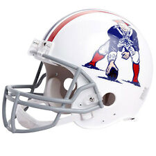 NEW ENGLAND PATRIOTS 65-81 RIDDELL NFL THROWBACK AUTHENTIC FOOTBALL HELMET