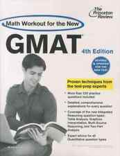MATH WORKOUT FOR THE NEW GMAT - 4TH EDITION COLLECTIF Neuf Livre