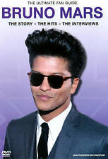 Mars, Bruno - The Ultimate Fan Guide, New DVD, Mars, Bruno,