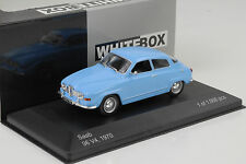SAAB 96 v4 1970 BLU 1:43 Whitebox